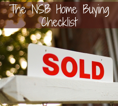 Checklist for buying a home from Northeast Security Bank