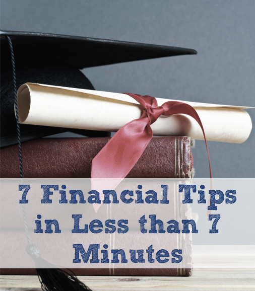 Financial tips for grads from NSB