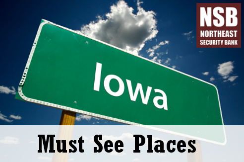 Iowa is filled with attractions for the whole family to see.